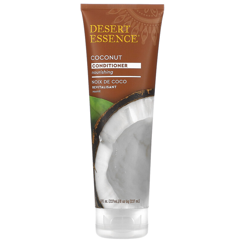 Desert Essence, Conditioner, Coconut, 8 fl oz (237 ml) 4 PACK