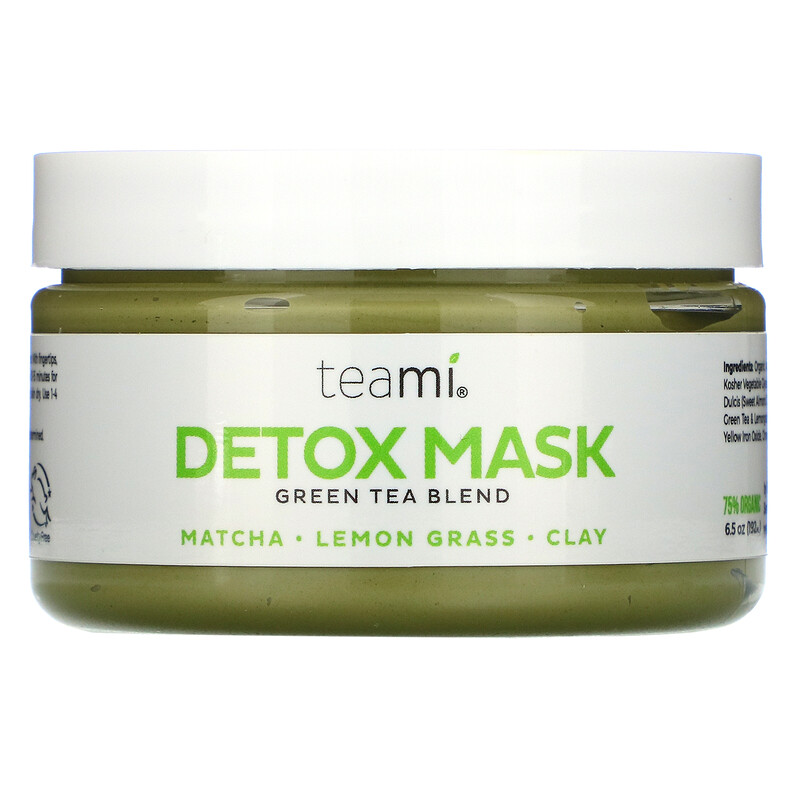 Teami, Detox Mask, Green Tea Blend, 6.5 oz (192 ml)